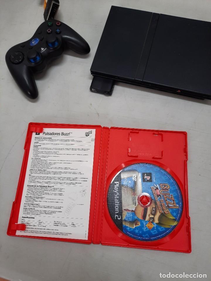Videojuegos y Consolas: CONSOLA SONY PLASYSTATION 2 CON 9 JUEGOS - Foto 19 - 254927875