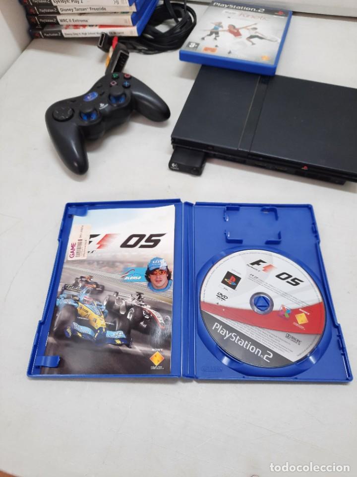 Videojuegos y Consolas: CONSOLA SONY PLASYSTATION 2 CON 9 JUEGOS - Foto 23 - 254927875