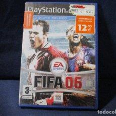 Videojuegos y Consolas: PS2 - FIFA 06 / PAL / PLAYSTATION 2. Lote 255954045