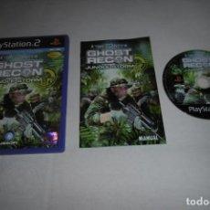 Videojuegos y Consolas: SONY PLAYSTATION 2 PS2 GHOST RECON JUNGLE STORM. Lote 256002905