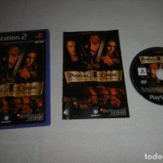 Videojuegos y Consolas: SONY PLAYSTATION 2 PS2 PIRATAS DEL CARIBE LA LEYENDA DE JACK SPARROW. Lote 256026155