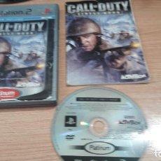 Videojuegos y Consolas: JUEGO PLAY 2 CALL OF DUTY FINEST HOUR PLATINUM. Lote 256050560