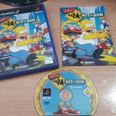 Videojuegos y Consolas: JUEGO PLAY 2 THE SIMPSON HIT & RUN. Lote 256051595