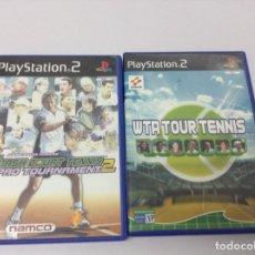Videojuegos y Consolas: PACK. LOTE .SMASH COURT TENNIS PRO TOURNAMENT + WTA TOUR TENNIS. Lote 256059275