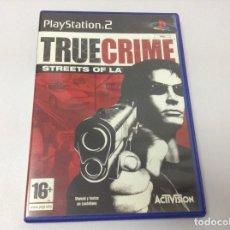 Videojuegos y Consolas: TRUE CRIME STREETS OF LA. Lote 256060450