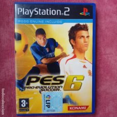 Videojuegos y Consolas: PES 06 PRO EVOLUTION SOCCER 6 PS2 PLAYSTATION 2 PLAY STATION TWO. Lote 256165395