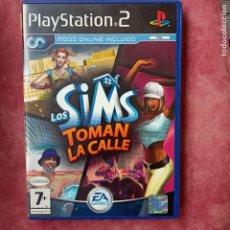 Videojuegos y Consolas: LOS SIMS TOMAN LA CALLE - PS2 PLAYSTATION 2 - PAL ESP. Lote 256165770