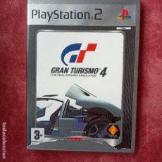 Videojuegos y Consolas: GRAN TURISMO 4 THE REAL DRIVING SIMULATOR PS2 PLAYSTATION 2 PLAY STATION TWO. Lote 256166880