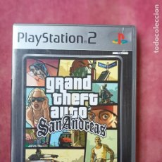 Videojuegos y Consolas: GRAND THEFT AUTO SAN ANDREAS GTA ANDREA PLATINUM PS2 PLAYSTATION 2 PLAY STATION TWO. Lote 256167415