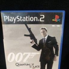 Videojuegos y Consolas: JUEGO PS2 007 QUANTUM OF SOLACE. Lote 257299960