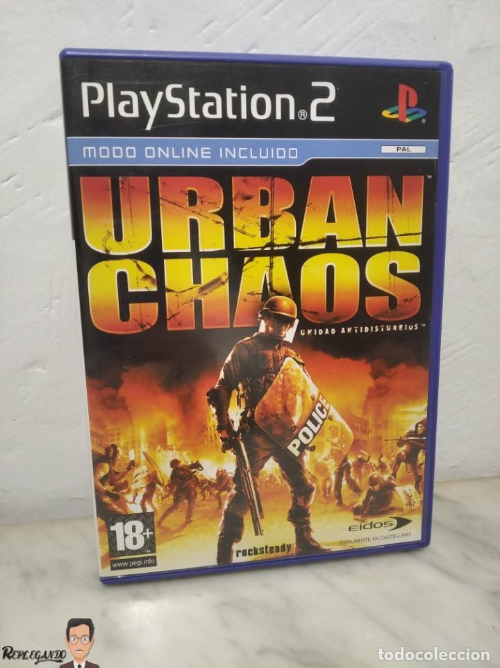 URBAN CHAOS - JUEGO PLAYSTATION 2 (SONY) PLAY - EIDOS - MODO ONLINE INCLUIDO (PAL) (Juguetes - Videojuegos y Consolas - Sony - PS2)
