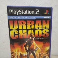 Videojuegos y Consolas: URBAN CHAOS - JUEGO PLAYSTATION 2 (SONY) PLAY - EIDOS - MODO ONLINE INCLUIDO (PAL). Lote 257859195