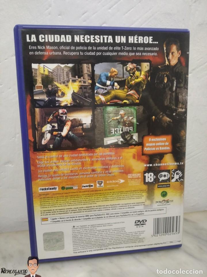 Videojuegos y Consolas: URBAN CHAOS - JUEGO PLAYSTATION 2 (SONY) PLAY - EIDOS - MODO ONLINE INCLUIDO (PAL) - Foto 2 - 257859195