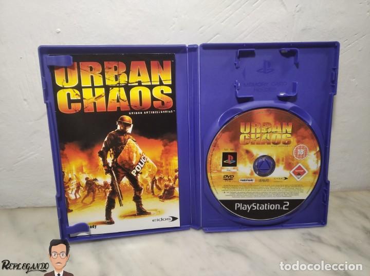 Videojuegos y Consolas: URBAN CHAOS - JUEGO PLAYSTATION 2 (SONY) PLAY - EIDOS - MODO ONLINE INCLUIDO (PAL) - Foto 3 - 257859195