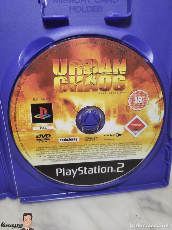 Videojuegos y Consolas: URBAN CHAOS - JUEGO PLAYSTATION 2 (SONY) PLAY - EIDOS - MODO ONLINE INCLUIDO (PAL) - Foto 5 - 257859195