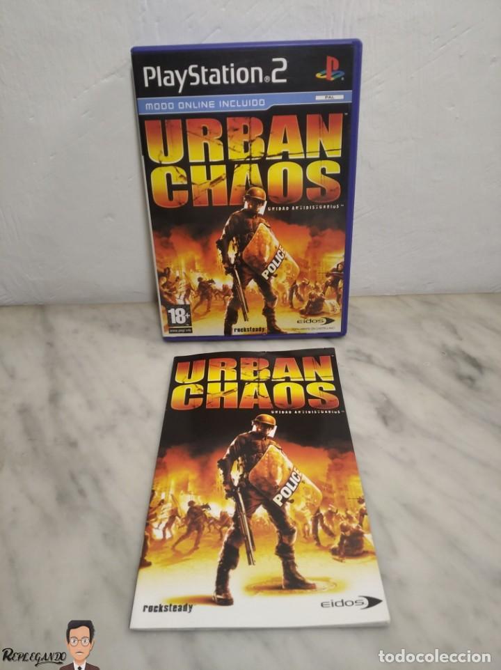 Videojuegos y Consolas: URBAN CHAOS - JUEGO PLAYSTATION 2 (SONY) PLAY - EIDOS - MODO ONLINE INCLUIDO (PAL) - Foto 8 - 257859195