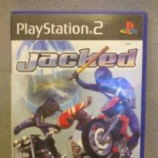 Videojuegos y Consolas: SONY PS2 JACKED - MANUAL Y CAJA - BUEN ESTADO.. Lote 257907760