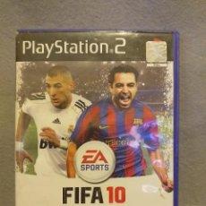 Videojuegos y Consolas: FIFA 10 PLAYSTATION 2 . ESTADO: USADO,LEVES RAYAS EN EL DISCO.. Lote 257908280