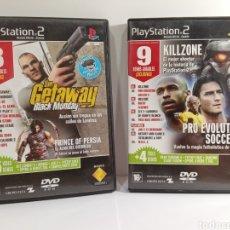 Videojuegos y Consolas: DEMOS PS2 - 17 DEMOS JUGABLES. Lote 260062680