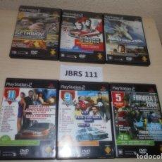 Videojuegos y Consolas: PS2 - PACK DE 6 DVD DE DEMOS DE JUEGOS. Lote 261828500