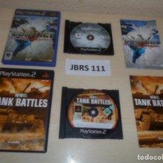 Videojuegos y Consolas: PS2 - CONFLICT GLOBAL STROM + WWII TANK BATTLES. Lote 261828710