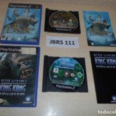 Videojuegos y Consolas: PS2 - LA BRUJULA DORADA + KING KONG , PAL ESPAÑOLES. Lote 261828840