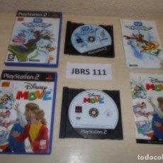 Videojuegos y Consolas: PS2 - DISNEY MOVE + EYETOY ANTIGRAV , PAL ESPAÑOL. Lote 261829230