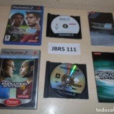 Videojuegos y Consolas: PS2 - PRO EVOLUTION SOCCER 2008 + PRO EVOLUTION SOCCER 5. Lote 261829575