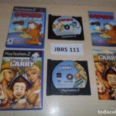 Videojuegos y Consolas: PS2 - GARFIELD AL RESCATE DE ARLENE + LEISURE SUIT LARRY , PAL ESPAÑOLES. Lote 261830750