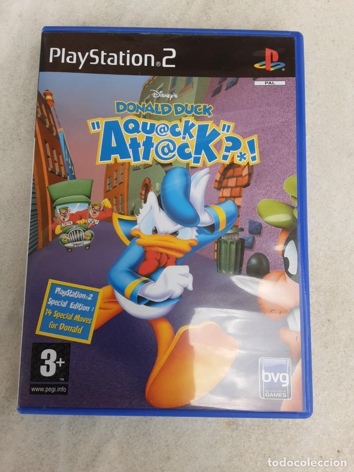 JUEGO QUACK ATTACK (Juguetes - Videojuegos y Consolas - Sony - PS2)