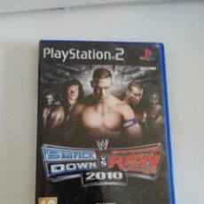 Videojuegos y Consolas: VIDEOJUEGO SONY PS2 PLAYSTATION 2 SMACK DOWN VS RAW 2010. Lote 262321300