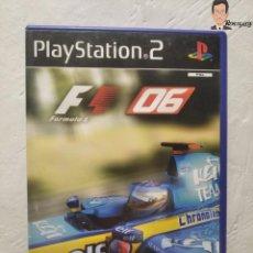 Videojuegos y Consolas: JUEGO PLAYSTATION 2 - F1 06 (EDICIÓN ESPAÑA) PS2 FORMULA 1 2006 - FORMULA ONE - FERNANDO ALONSO. Lote 262920615