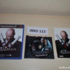 Videojuegos y Consolas: PS2 - HITMAN CONTRACTS , PAL ESPAÑOL , COMPLETO. Lote 262990265