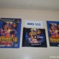 Videojuegos y Consolas: PS2 - ROMANCE OF THE THREE KINGDOMS VIII , PAL ESPAÑOL , COMPLETO. Lote 262990755