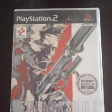 Videojuegos y Consolas: METAL GEAR SOLID 2 SONS OF LIBERTY DVD EXTRA PS2 PLAYSTATION 2 PLAY STATION TWO. Lote 263029370