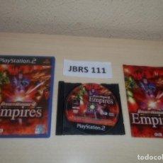Videojuegos y Consolas: PS2 - DYNASTY WARRIORS 4 EMPIRES , PAL ESPAÑOL , COMPLETO. Lote 263047425