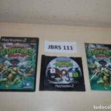 Videojuegos y Consolas: PS2 - TEENAGE MUTANT NINJA TURTLES - SMASH UP , PAL UK , COMPLETO. Lote 263048060