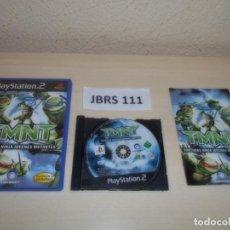 Videojuegos y Consolas: PS2 - TMNT - TORUTUGAS NINJA JOVENES MUTANTES , PAL ESPAÑOL , COMPLETO. Lote 263048105