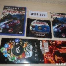 Videojuegos y Consolas: PS2 - NEED FOR SPEED CARBONO , PAL ESPAÑOL , COMPLETO. Lote 263048620