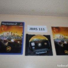Videojuegos y Consolas: PS2 - NEED FOR SPEED UNDERCOVER , PAL ESPAÑOL , COMPLETO. Lote 263048680