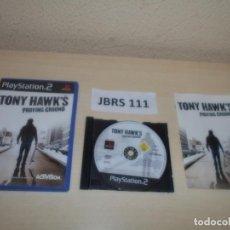 Videojuegos y Consolas: PS2 - TONY HAWK,S PROVING GROUND , PAL ESPAÑOL , COMPLETO. Lote 263050020