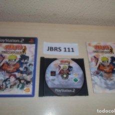 Videojuegos y Consolas: PS2 - NARUTO ULTIMATE NINJA , PAL ESPAÑOL , COMPLETO. Lote 263053215