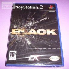 Videojuegos y Consolas: BLACK NUEVO PRECINTADO PAL ESPAÑA PLAYSTATION 2 PS2. Lote 264498794