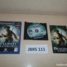 Videojuegos y Consolas: PS2 - BEYOND GOOD & EVIL , PAL ESPAÑOL , COMPLETO. Lote 264751924