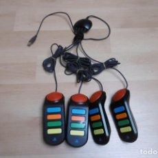 Videojuegos y Consolas: PULSADORES BUZZ! PARA SONY PLAYSTATION 2 PS2. Lote 264856024
