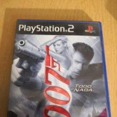 Videojuegos y Consolas: JAMES BOND 007 TODO O NADA PLAYSTATION 2. Lote 267320914