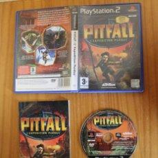 Videojuegos y Consolas: PITFALL L'EXPEDITION PERDUE. PS2 ACTIVISION PLAYSTATION 2. Lote 268576079