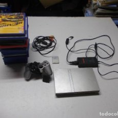 Jeux Vidéo et Consoles: LOTE PS2 CON 17 JUEGOS, TAL CUAL ENCONTRADO Y SEGÚN FOTOS, TODO SIN PROBAR. LA CONSOLA ENCIENDE. Lote 268608954