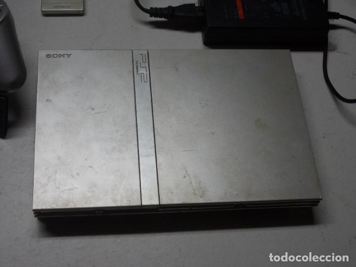 Videojuegos y Consolas: Lote PS2 con 17 juegos, tal cual encontrado y según fotos, todo sin probar. La consola enciende - Foto 2 - 268608954