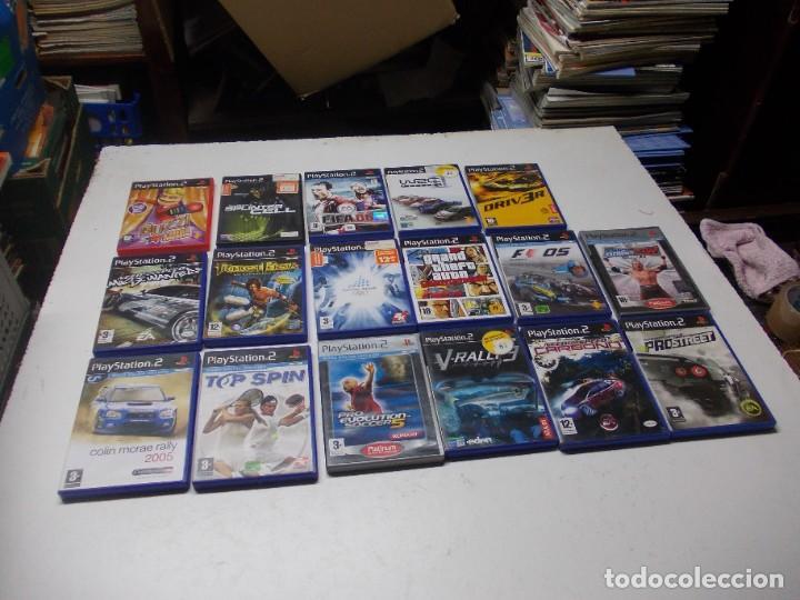 Videojuegos y Consolas: Lote PS2 con 17 juegos, tal cual encontrado y según fotos, todo sin probar. La consola enciende - Foto 17 - 268608954